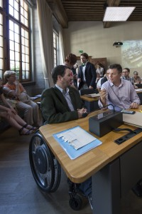 Assermentation des Autorités lausannoises – Salle du Conseil communal de Lausanne, le 28 juin 2016.
